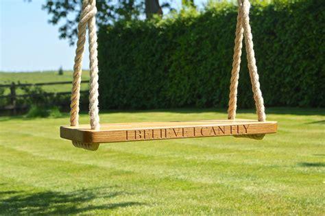 Ordinary Garden Swings For Adults #2: Solid-Oak-Handmade-Spliced-Swing-With-Personalised-Engraving-10867.jpg