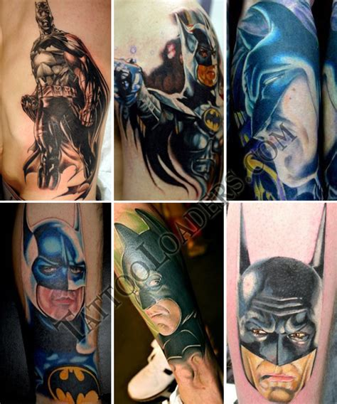 dc tattoo designs batman tattoos loaders designs tribal