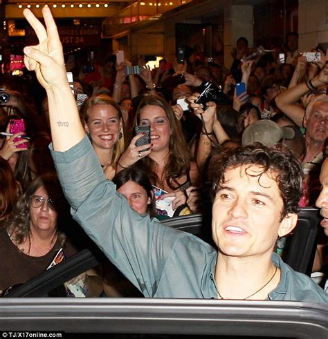 orlando bloom first time on broadway as he makes his debut