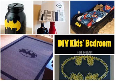 batman accessories for bedroom easy batman diy ideas red ted art s blog