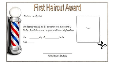 Haircut Gift Certificate Template by Haircut Gift Certificate Templates The Best