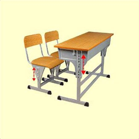 height adjustable desk india height adjustable single desk and chair in langford road