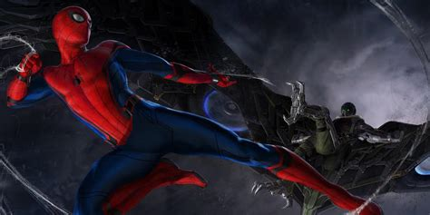 spider homecoming new spider homecoming set photo showcases suit
