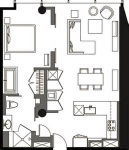 veer towers floor plans one bedroom floor plan v1b 5 187 veer towers 187 citycenter