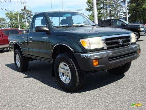 2000 Toyota Tacoma 4x4 Imperial Jade Green Mica 2000 Toyota Tacoma Regular Cab