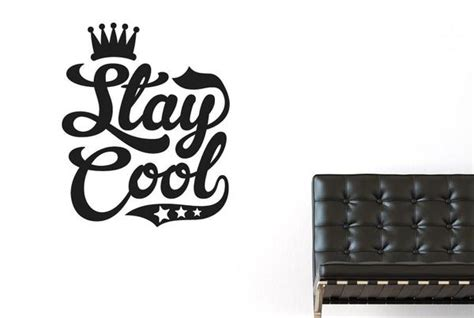 cool wall stickers uk stay cool cut it out wall stickers uk and decals cut