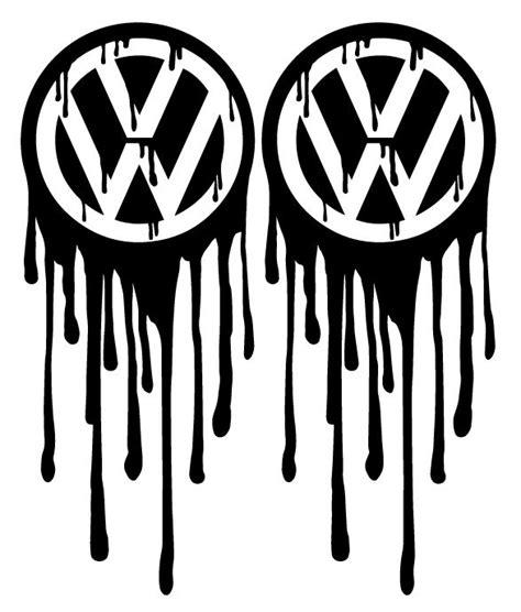 Volkswagen Logo Aufkleber by Www Timos Plottshop De Vw Logo Bleeding Aufkleber Set