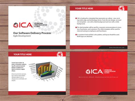 powerpoint design canada serious modern non profit powerpoint design for a