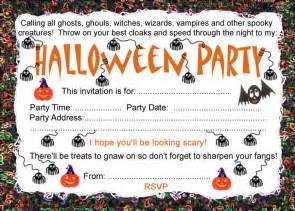 halloween invitations free templates free template halloween birthday invites