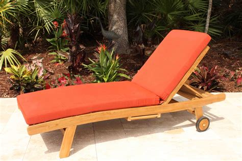 sunbrella chaise lounge cushions sale sale sunbrella fabric chaise lounge cushion oceanic teak