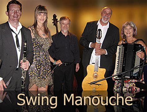 swing manouche contact and book swing manouche brisbane jazz bands for