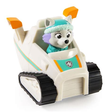 paw patrol everest spin master paw patrol rescue racer everest