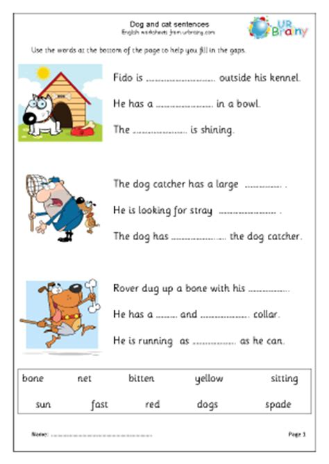 free printable worksheets english year 1 worksheets for year 1 english fun learning english