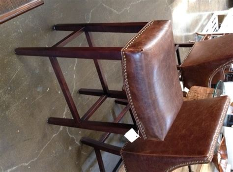 Leather Saddle Style Bar Stools by Saddle Leather Bar Stool Seating