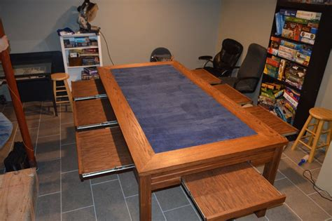 Gaming Table by Tim S Gaming Table The Wood Whisperer Howldb