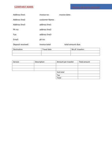 medical invoice format fresh bill format in word medical bill