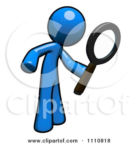 clipart search clipart search engine blue using a magnifying glass