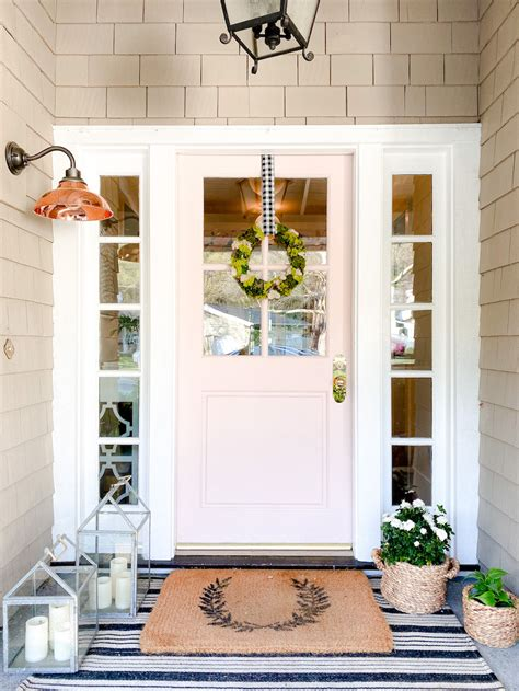 easy front porch decorating ideas  spring  summer