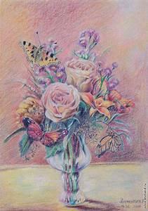 Картинки цветными карандашами пейзаж