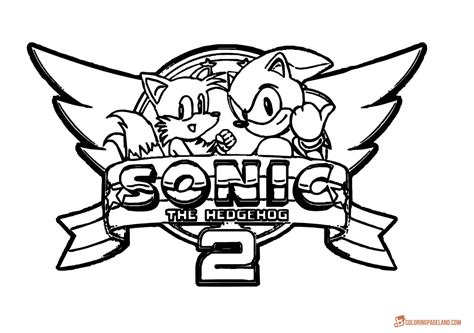sonic games coloring pages download and print for free