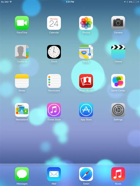 ios7 home screen www imgkid the image kid has it