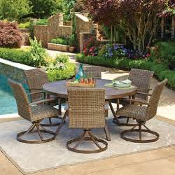 Agio Patio Dining Set Members Agio Collection Fremont Dining Set Sam S Club