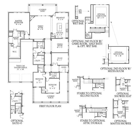 Darling Homes Floor Plans | floorplan newman village darling homes floor plans