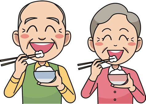 onlinelabels clip art couple eating rice