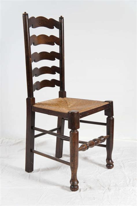 ladder back dining room chairs six english ladder back dining chairs at 1stdibs