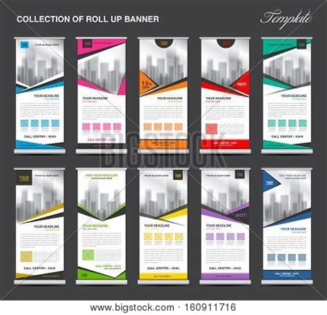 layout x banner collection roll banner design vector photo bigstock