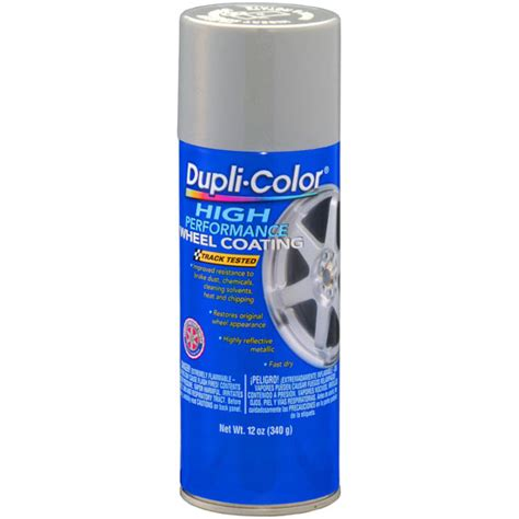 dupli color wheel coating silver 11 oz aerosol argent silver for rally wheels