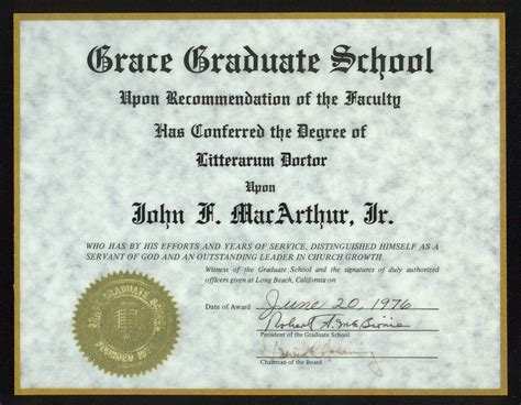 Of Mba Graduate Gets Honorary Degree by Dr Who Televangelists With Educations And Degrees