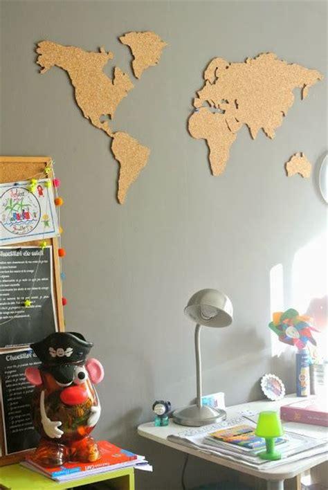 Wall Mural World Map les 25 meilleures id 233 es de la cat 233 gorie carte murale du