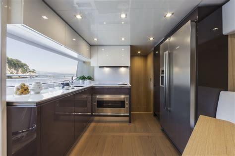 cucine ferretti ferretti 960 yacht galley yacht charter superyacht news