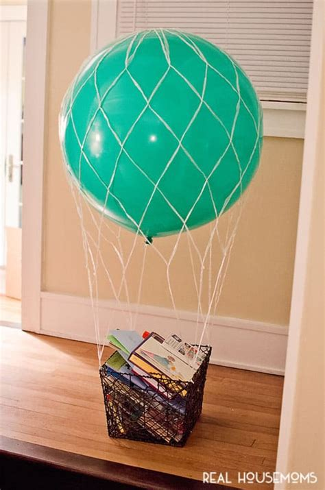 baby baby shower gift basket card template air balloon baby shower real housemoms