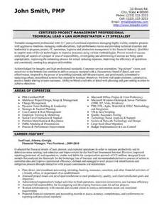 Financial Resume Exles by Resume Resume Templates And Templates On