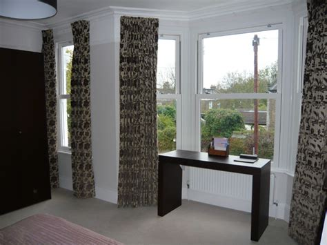 bay window blackout curtains changing curtains camengo amazonia blackout lined and