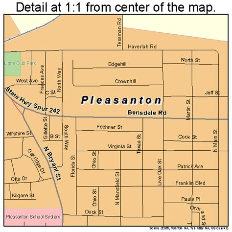 pleasanton texas map pleasanton texas map 4858280
