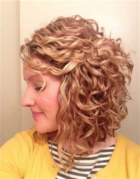 pictues of curly perms for inverted bobs reverse bob curly hair regarding present your beauty my