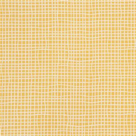 grid pattern light light cream and yellow grid pattern organic fabric by