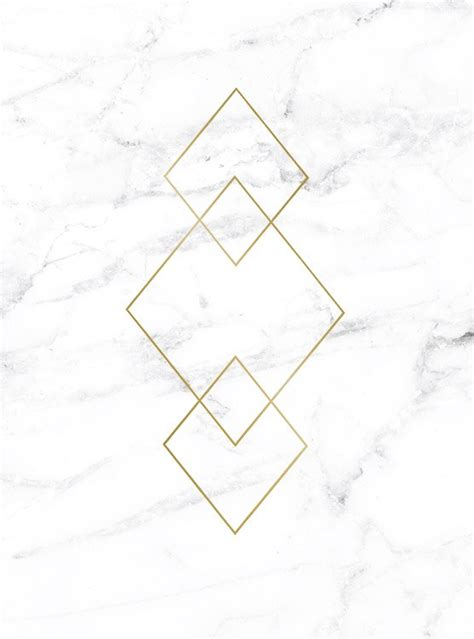 Triangle Marble by Poster With Gold Triangles On Marble Prints Interior Design