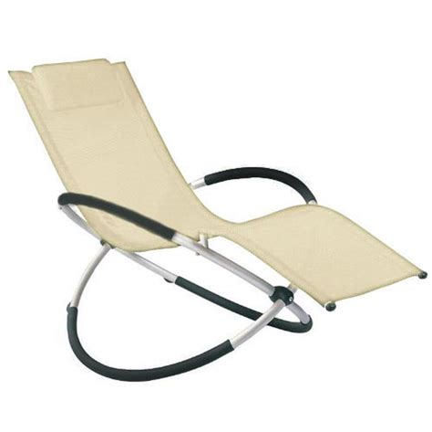 Rocking Garden Lounger Moon Rocker Sun Lounger