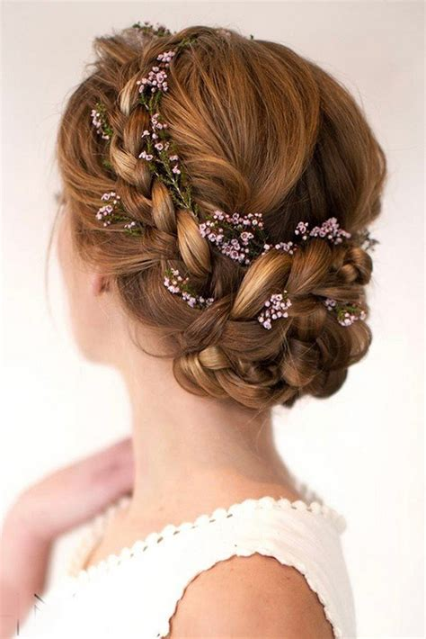 wedding hairstyles flower wedding hairstyles archives oh best day