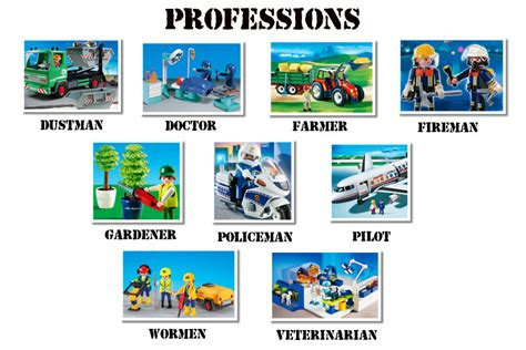 ocupaciones con imagenes en ingles profesiones y ocupaciones professions and ocupations