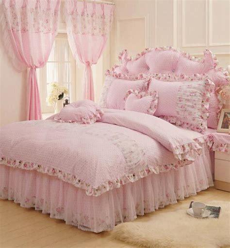 teen girl bedding sets cotton rustic pink green flower bedding set teen girl full