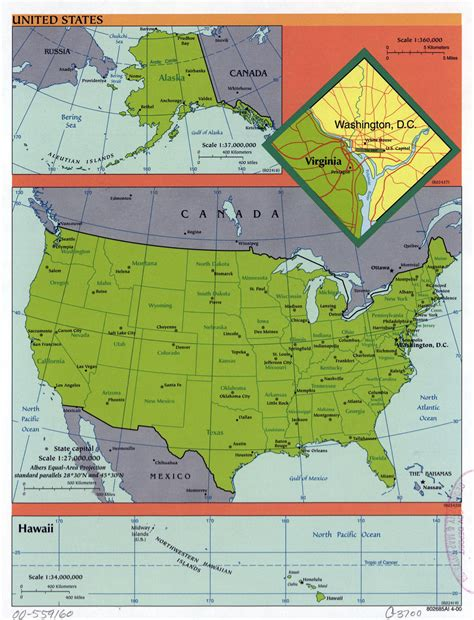 a big map of the united states large detailed political and administrative map of the