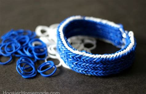 Cool Things To Make With Rubber Bands And Paper - how to make a fishtail rubber band bracelet