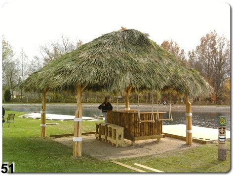 Tiki Hut Construction Custom Tiki Bar Construction Ta Bay Area Florida