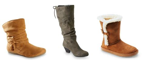 kmart boots kmart s boots for as low as 2 99