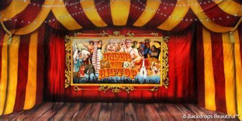 Music Studio Layout circus 7 big top backdrop backdrops beautiful